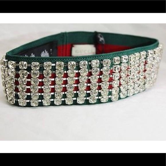 521a73d79bf Gucci webby Headband Crystal